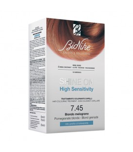 BioNike Shine On HS Hair Colouring Treatment - 7.45 Pomegranate Blonde