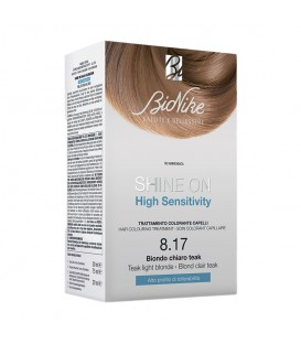BioNike Shine On HS Hair Colouring Treatment - 8.17 Teak Light Blonde