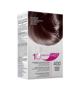 BioNike Shine On FAST Hair Colouring Treatment - 400 Brown