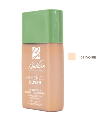 BioNike Defence Cover Corrective Fluid Foundation 101 Ivoire - 40ml