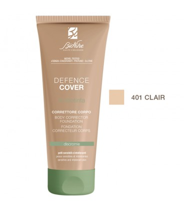 BioNike Defence Cover Body Corrective Foundation 401 Claire - 75ml