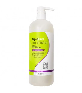DevaCurl Light Defining Gel Soft Hold No-Crunch Style - 946ml