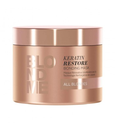 Schwarzkopf BLONDME All Blonde Keratin Restore Bonding Mask - 7oz