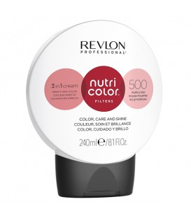 NEW Revlon Professional Nutri Color Filters 500 Purple Red - 240ml
