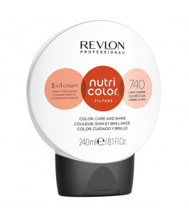NEW Revlon Professional Nutri Color Filters 740 Light Copper - 240ml
