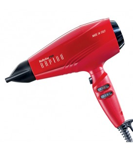 BabylissPro High Performance Rapido Hairdryer Red