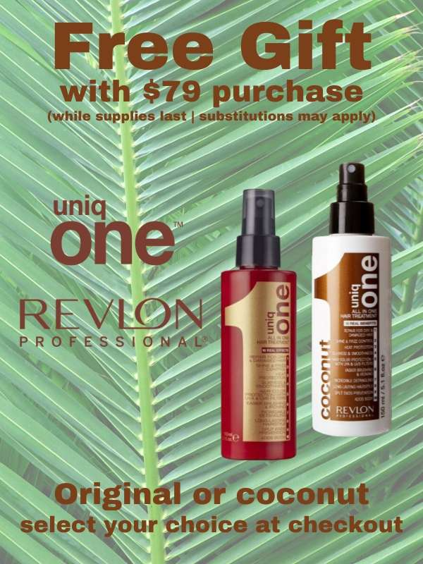 Free UniqOne Hair Treatment