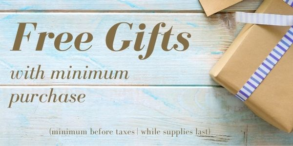 Free gift with purchase @ TradeSecrets.ca