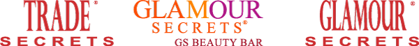 Trade Secrets | GS BEauty Bar | Glamour Secrets logos