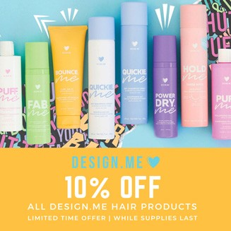 Design.ME 10% off sale